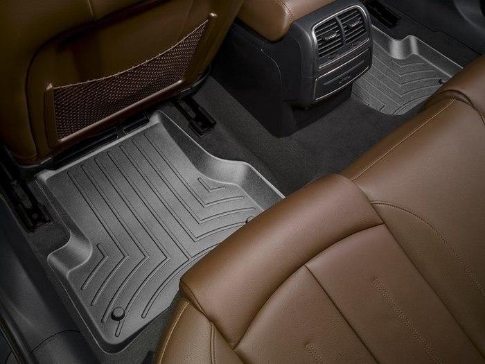 WeatherTech DigitalFit Floor Mats for Audi [Covers Rear, Black] (WEA94994)