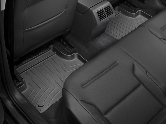 WeatherTech DigitalFit Floor Mats for Audi/Volkswagen [Covers Rear, Black] (WEA95273)