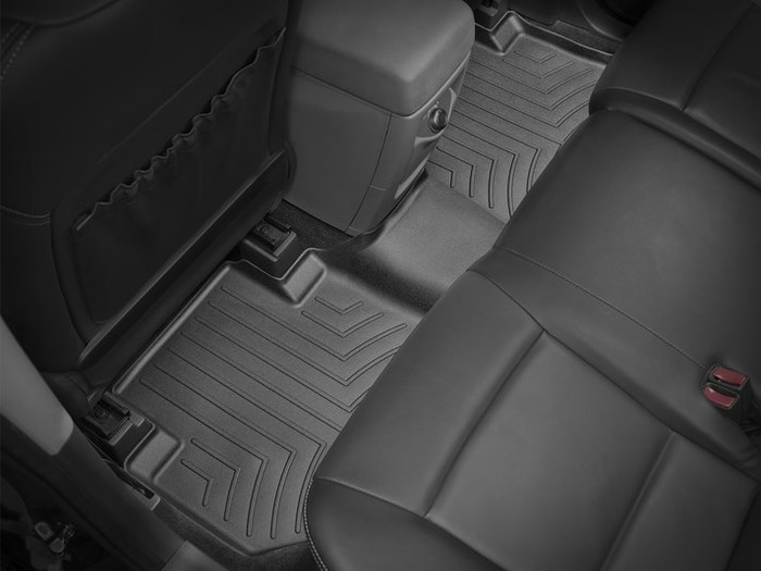 WeatherTech DigitalFit Floor Mats for B9 Tribeca/Tribeca [Covers Rear, Black] (WEA95359)