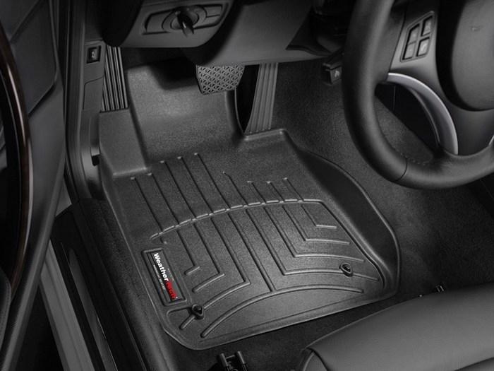 WeatherTech DigitalFit Floor Mats for BMW [Covers Front, Black] (WEA94642)