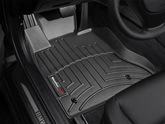 WeatherTech DigitalFit Floor Mats for BMW [Covers Front, Black] (WEA94828)