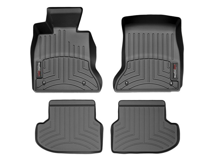 WeatherTech DigitalFit Floor Mats for BMW [Covers Front & Rear, Black] (WEA94827)