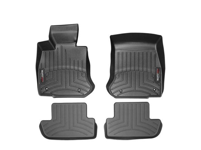 WeatherTech DigitalFit Floor Mats for BMW [Covers Front & Rear, Black] (WEA94984)