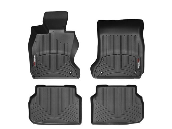 WeatherTech DigitalFit Floor Mats for BMW [Covers Front & Rear, Black] (WEA94996)