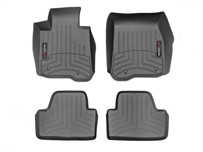 WeatherTech DigitalFit Floor Mats for BMW [Covers Front & Rear, Black] (WEA95404)