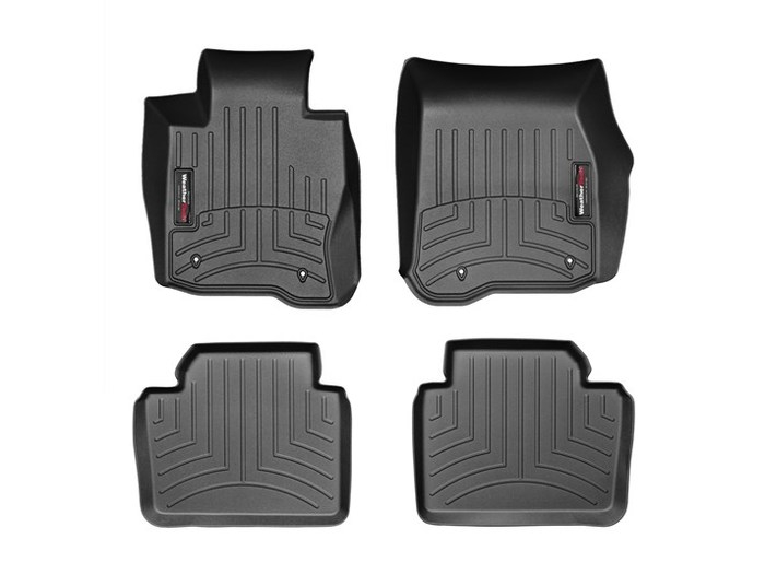 WeatherTech DigitalFit Floor Mats for BMW [Covers Front & Rear, Black] (WEA95434)
