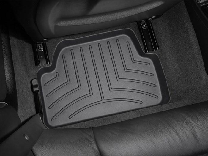 WeatherTech DigitalFit Floor Mats for BMW [Covers Rear, Black] (WEA94643)