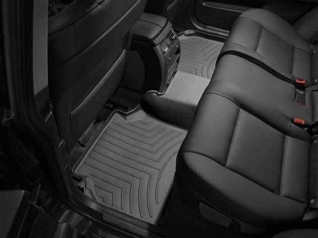 WeatherTech DigitalFit Floor Mats for BMW [Covers Rear, Black] (WEA94811)