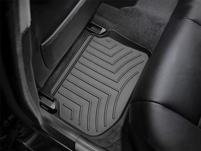 WeatherTech DigitalFit Floor Mats for BMW [Covers Rear, Black] (WEA94829)