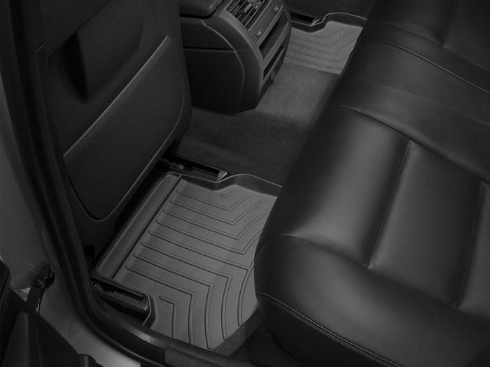 WeatherTech DigitalFit Floor Mats for BMW [Covers Rear, Black] (WEA94830)