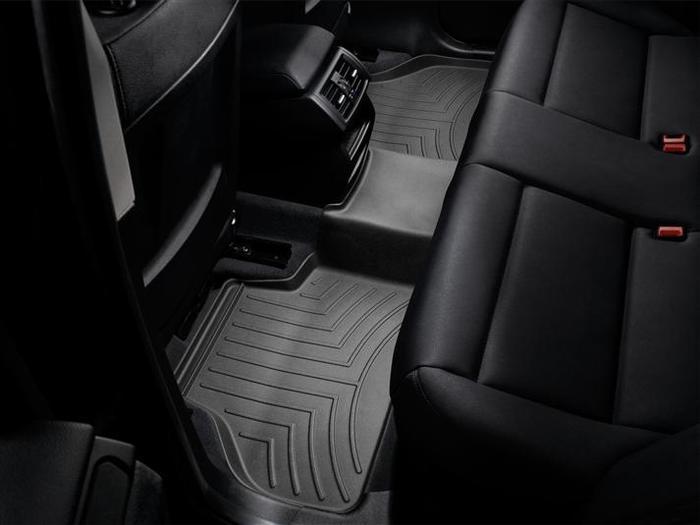 WeatherTech DigitalFit Floor Mats for BMW [Covers Rear, Black] (WEA94882)