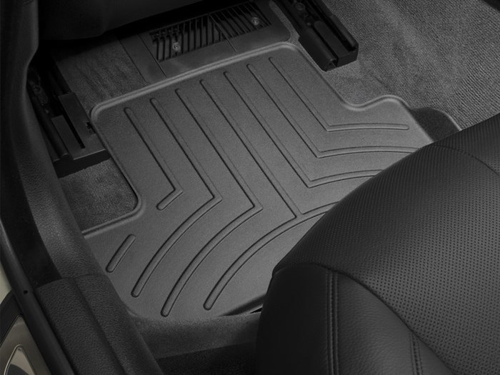 WeatherTech DigitalFit Floor Mats for BMW [Covers Rear, Black] (WEA94987)