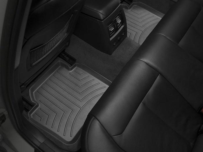 WeatherTech DigitalFit Floor Mats for BMW [Covers Rear, Black] (WEA95069)