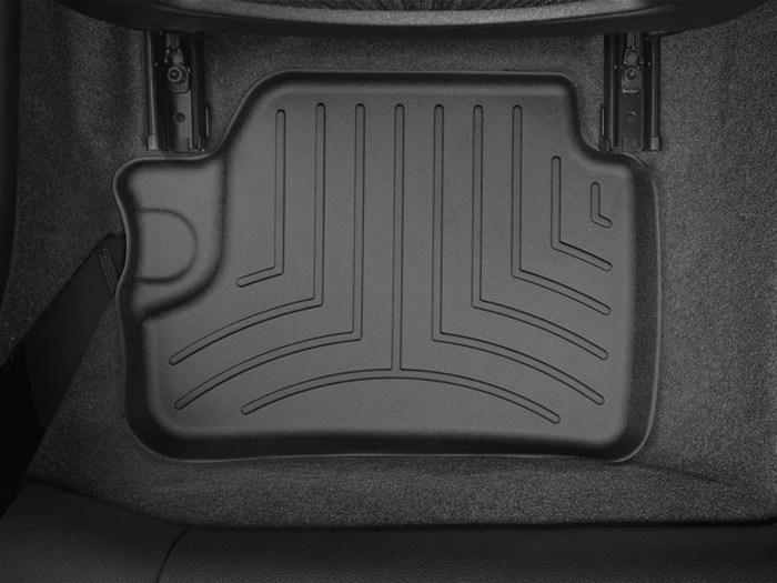 WeatherTech DigitalFit Floor Mats for BMW [Covers Rear, Black] (WEA95070)