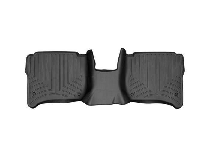 WeatherTech DigitalFit Floor Mats for Cayenne/Touareg [Covers Rear, Black] (WEA94888)