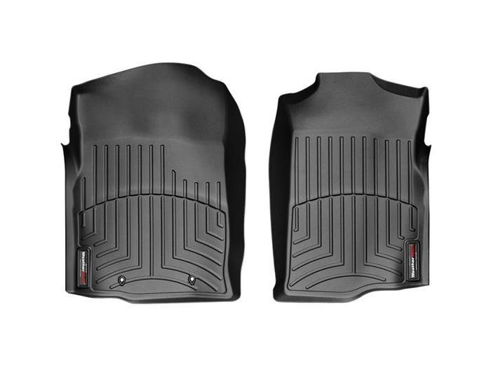 WeatherTech DigitalFit Floor Mats for Chevrolet/GMC [Covers Front, Black] (WEA94670)