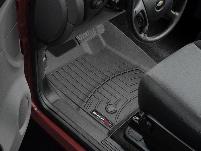 WeatherTech DigitalFit Floor Mats for Chevrolet/GMC [Covers Front, Black] (WEA94912)