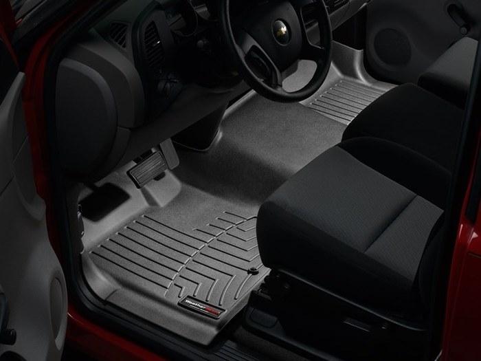 WeatherTech DigitalFit Floor Mats for Chevrolet/GMC [Covers Front, Black] (WEA94983)