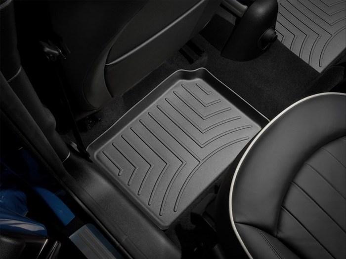 WeatherTech DigitalFit Floor Mats for Cooper Countryman/Cooper Paceman [Covers Rear, Black] (WEA94942)