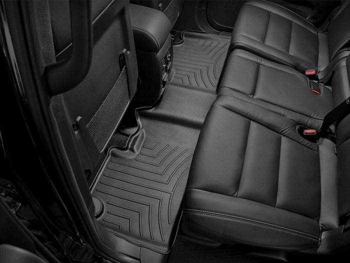 WeatherTech DigitalFit Floor Mats for Durango/Grand Cherokee [Covers Rear, Black] (WEA94862)