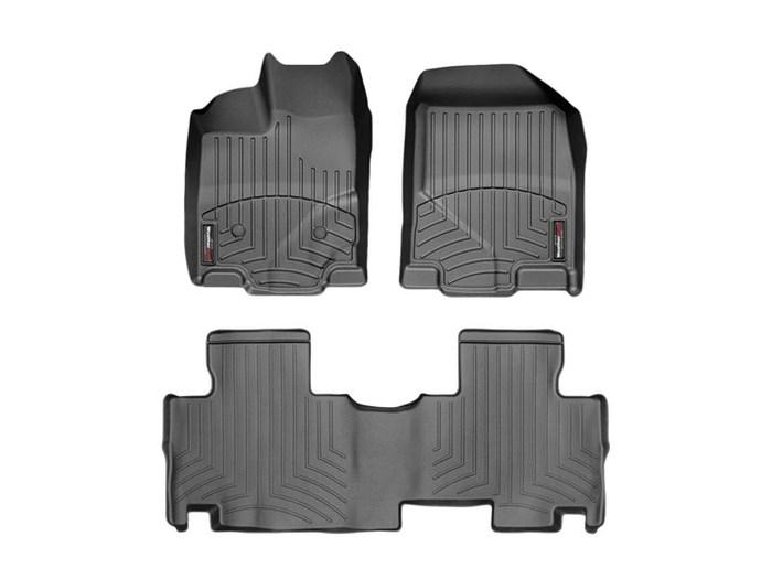 WeatherTech DigitalFit Floor Mats for Edge/MKX [Covers Front & Rear, Black] (WEA94924)