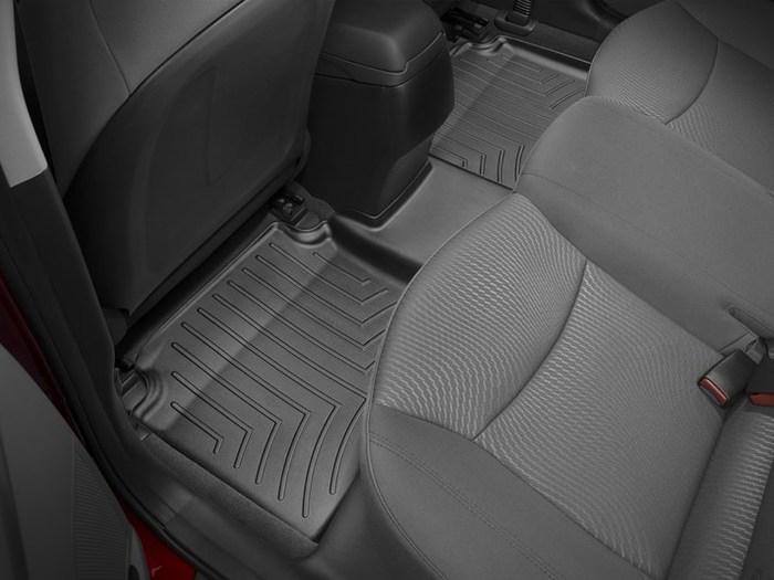 WeatherTech DigitalFit Floor Mats for Elantra/Elantra Coupe [Covers Rear, Black] (WEA94868)