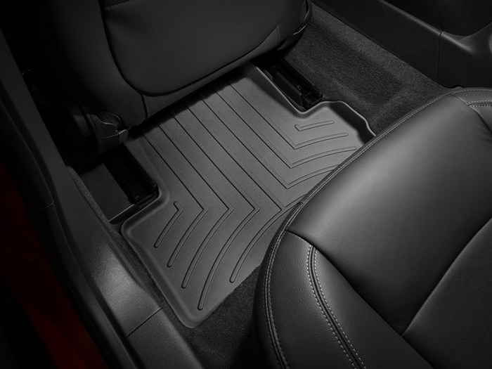 WeatherTech DigitalFit Floor Mats for ELR/Volt [Covers Rear, Black] (WEA95334)
