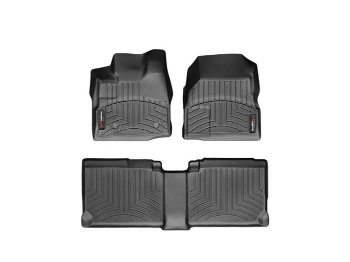 WeatherTech DigitalFit Floor Mats for Equinox/Terrain [Covers Front & Rear, Black] (WEA94918)