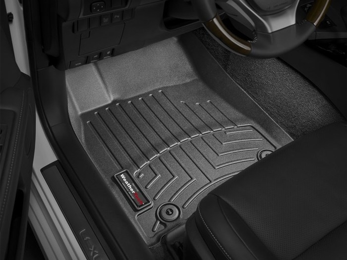 WeatherTech DigitalFit Floor Mats for ES300h/ES350 [Covers Front, Black] (WEA95209)