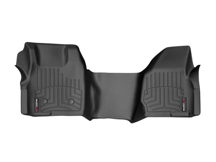 WeatherTech DigitalFit Floor Mats for F-250 Super Duty/F-350 Super Duty [Covers Front, Black] (WEA95045)
