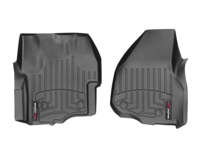 WeatherTech DigitalFit Floor Mats for F-250 Super Duty/F-350 Super Duty [Covers Front, Black] (WEA95464)