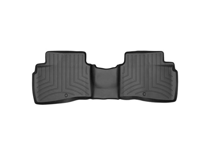 WeatherTech DigitalFit Floor Mats for Forte/Forte5 [Covers Rear, Black] (WEA94774)