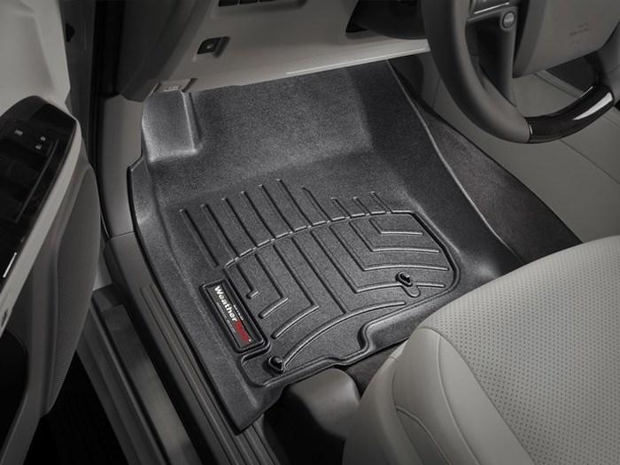 WeatherTech DigitalFit Floor Mats for GX460/4Runner [Covers Front, Black] (WEA94962)