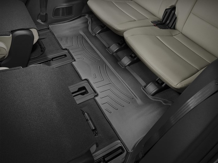 WeatherTech DigitalFit Floor Mats for Hyundai/Kia [Covers Rear, Black] (WEA95131)