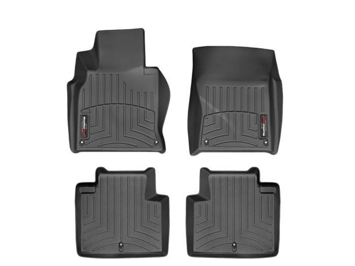 WeatherTech DigitalFit Floor Mats for Infiniti [Covers Front & Rear, Black] (WEA94793)
