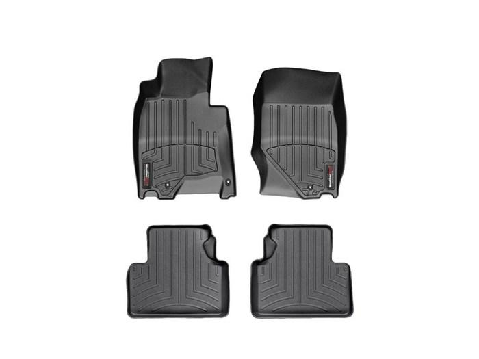 WeatherTech DigitalFit Floor Mats for Infiniti [Covers Front & Rear, Black] (WEA94926)