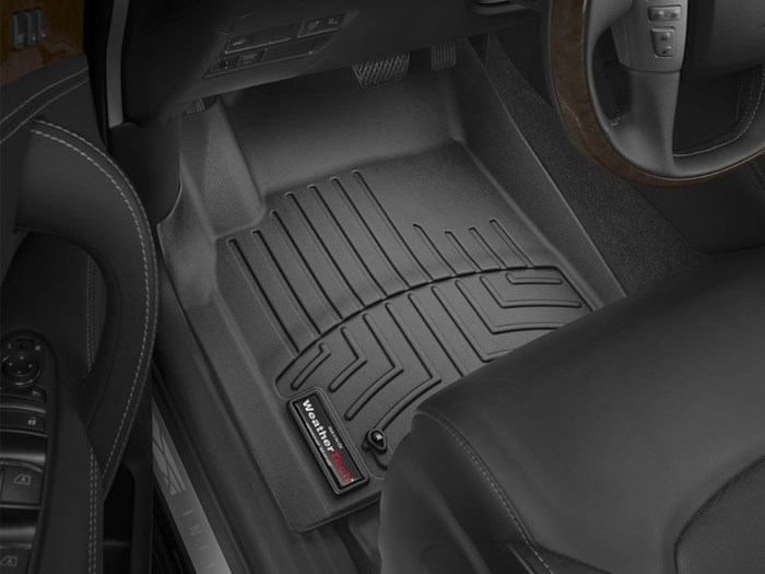 WeatherTech DigitalFit Floor Mats for Infiniti/Nissan [Covers Front, Black] (WEA94891)