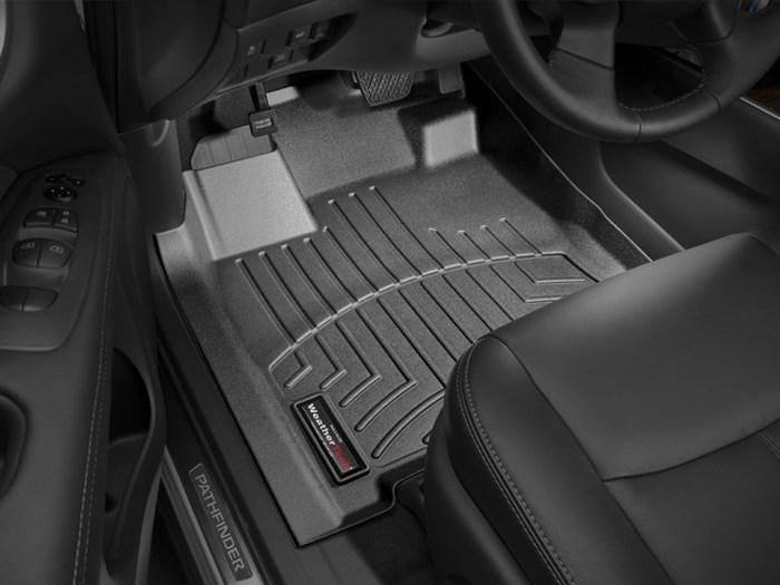 WeatherTech DigitalFit Floor Mats for Infiniti/Nissan [Covers Front, Black] (WEA95139)