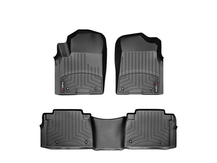 WeatherTech DigitalFit Floor Mats for Infiniti/Nissan [Covers Front & Rear, Black] (WEA94890)