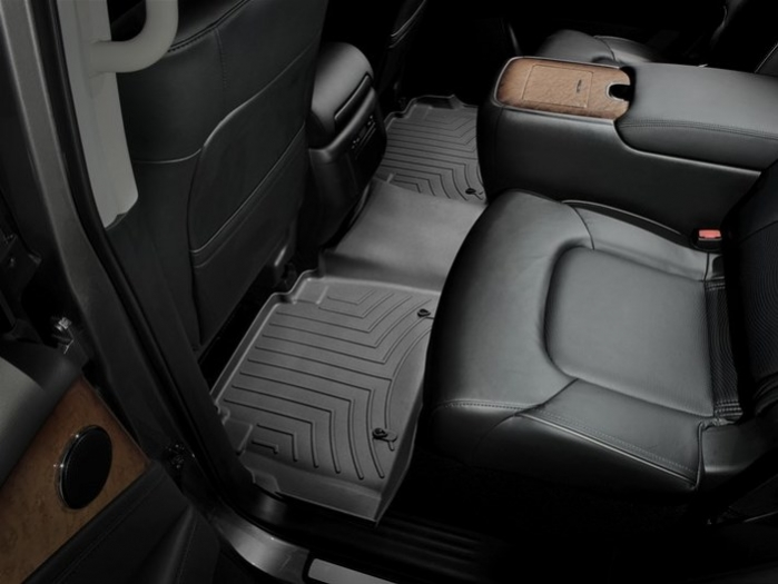 WeatherTech DigitalFit Floor Mats for Infiniti/Nissan [Covers Rear, Black] (WEA94892)