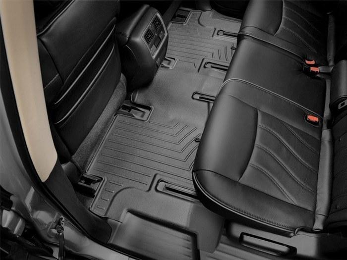WeatherTech DigitalFit Floor Mats for Infiniti/Nissan [Covers Rear, Black] (WEA95140)
