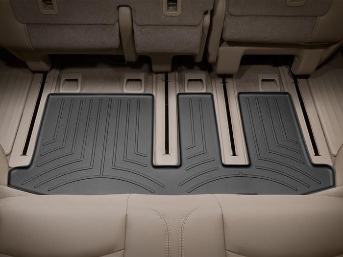 WeatherTech DigitalFit Floor Mats for Infiniti/Nissan [Covers Rear, Black] (WEA95141)