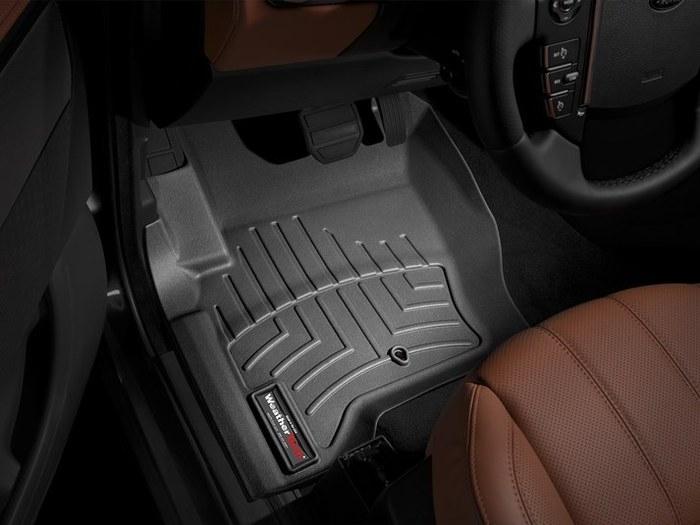 WeatherTech DigitalFit Floor Mats for Land Rover [Covers Front, Black] (WEA94966)
