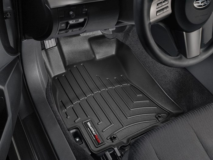 WeatherTech DigitalFit Floor Mats for Legacy/Outback [Covers Front, Black] (WEA94657)