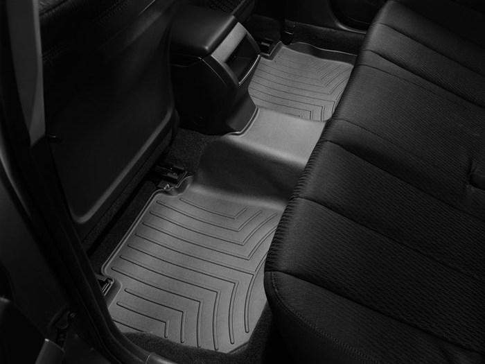 WeatherTech DigitalFit Floor Mats for Legacy/Outback [Covers Rear, Black] (WEA94658)