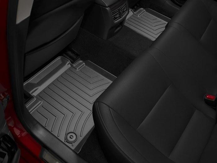 WeatherTech DigitalFit Floor Mats for Lexus [Covers Rear, Black] (WEA95162)