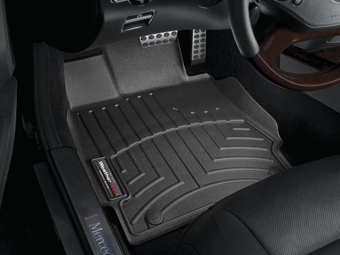 WeatherTech DigitalFit Floor Mats for Mercedes-Benz [Covers Front, Black] (WEA94638)