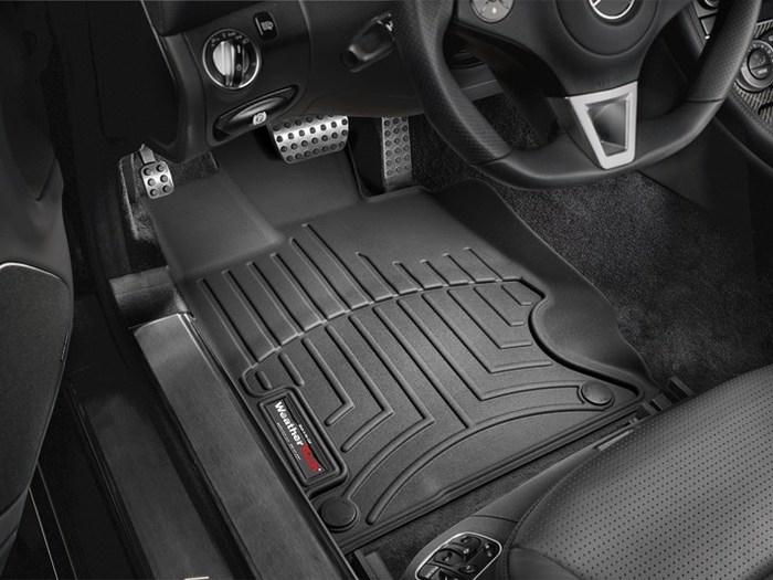 WeatherTech DigitalFit Floor Mats for Mercedes-Benz [Covers Front, Black] (WEA94644)