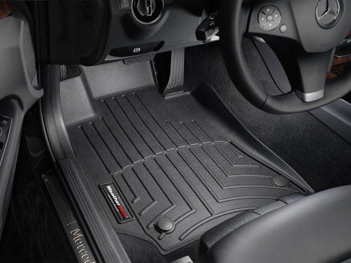 WeatherTech DigitalFit Floor Mats for Mercedes-Benz [Covers Front, Black] (WEA94653)