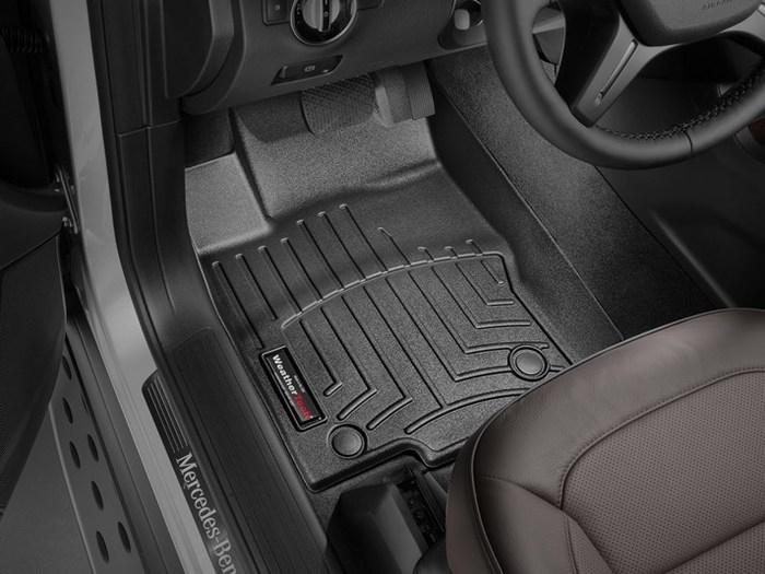 WeatherTech DigitalFit Floor Mats for Mercedes-Benz [Covers Front, Black] (WEA95032)